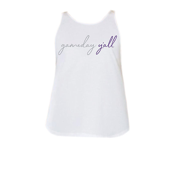 Ridge Point Gameday Y'all Rounded Tank