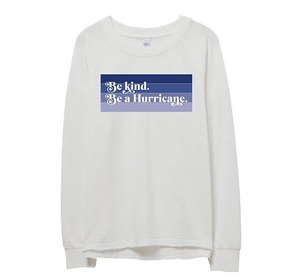 Tulsa Be Kind Raw-edge Sweatshirt