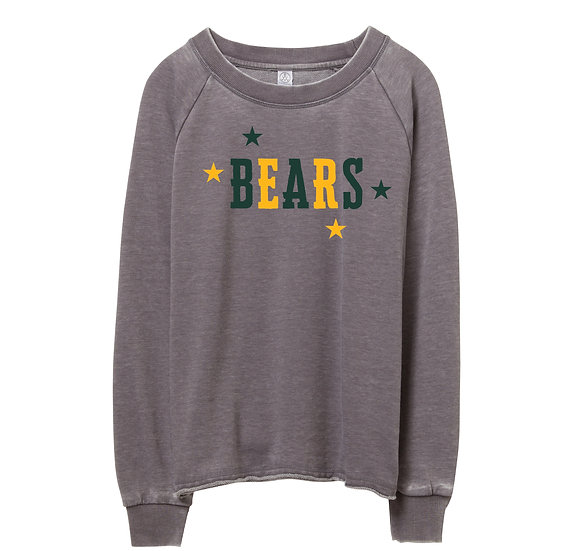 Baylor Mascots Raw-edge Sweatshirt