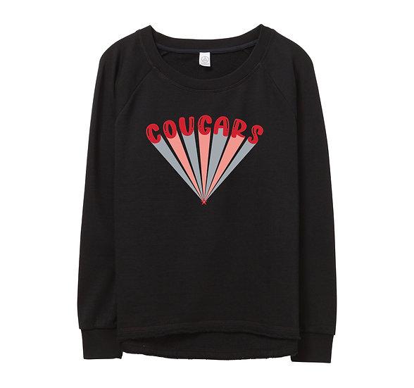 Houston Bubble Raw-edge Sweatshirt