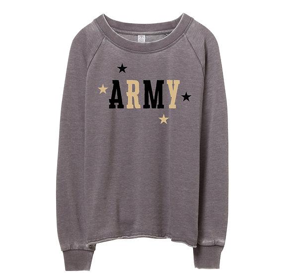 West Point Mascot Raw-edge Sweatshirt