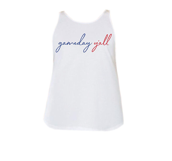 Dulles Gameday Y'all Rounded Tank
