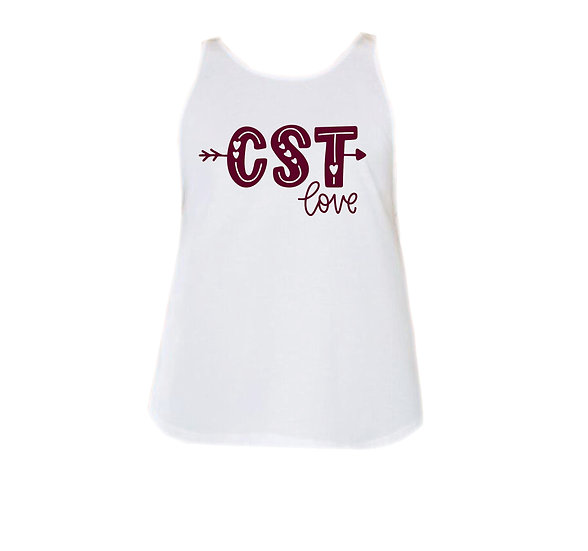 TAMU City Love Rounded Tank