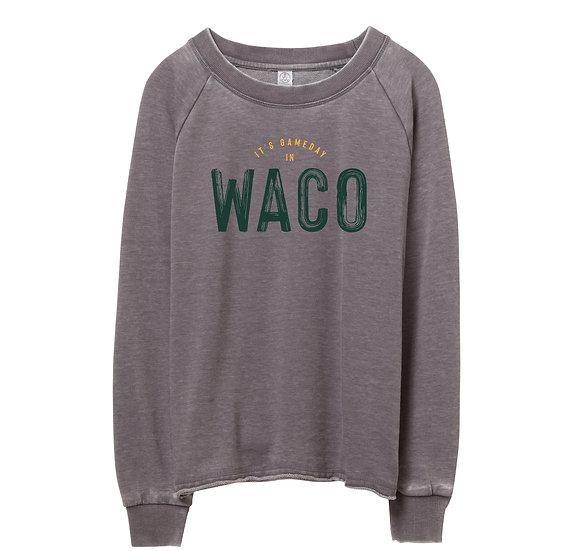 Baylor Gameday in City Raw-edge Sweatshirt