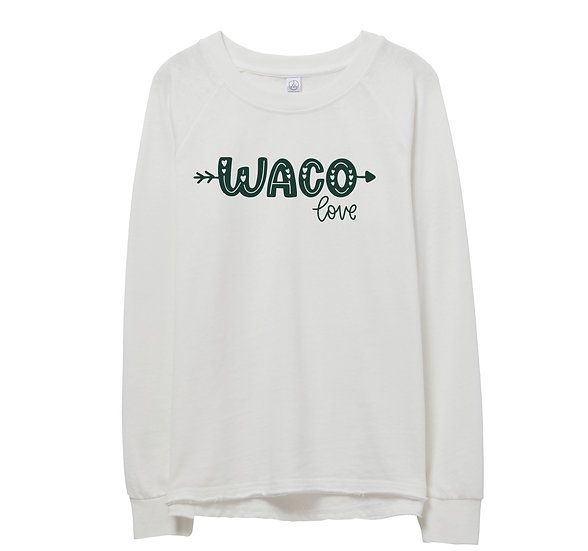 Baylor City Love Raw-edge Sweatshirt