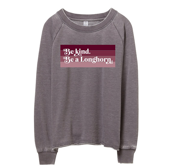 George Ranch Be Kind Raw-edge Sweatshirt