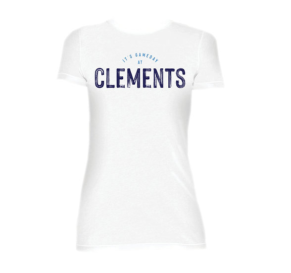Clements It's Gameday Crew Neck Tee