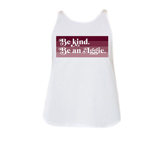 TAMU Be Kind Rounded Tank