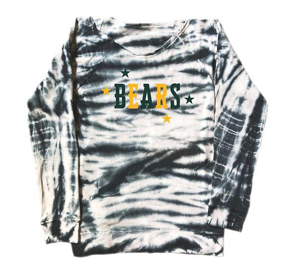 Baylor Mascot Tie Dye Sweatshirt
