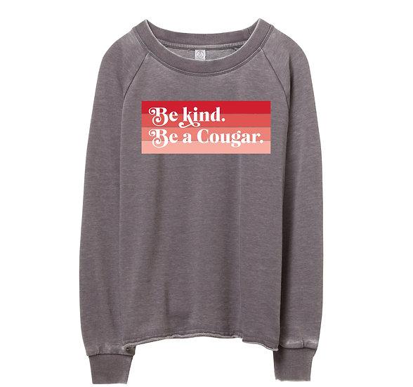 Houston Be Kind Raw-edge Sweatshirt