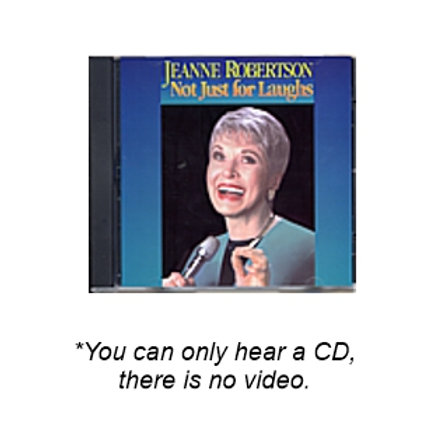 Not Just for Laughs CD