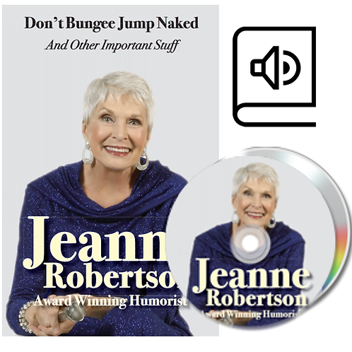 AUDIOBOOK CD's Don't Bungee Jump Naked and Other Important Stuff