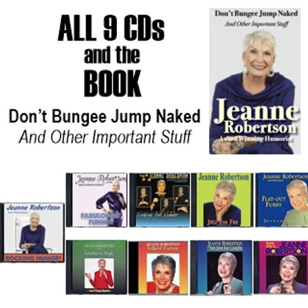 All 9 CDs and the Paperback Book