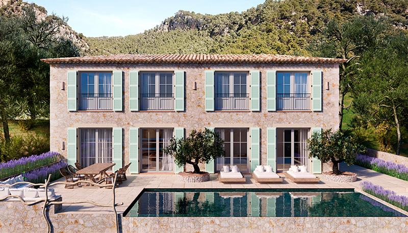 Casa en Mallorca. Claudio Hernández.
