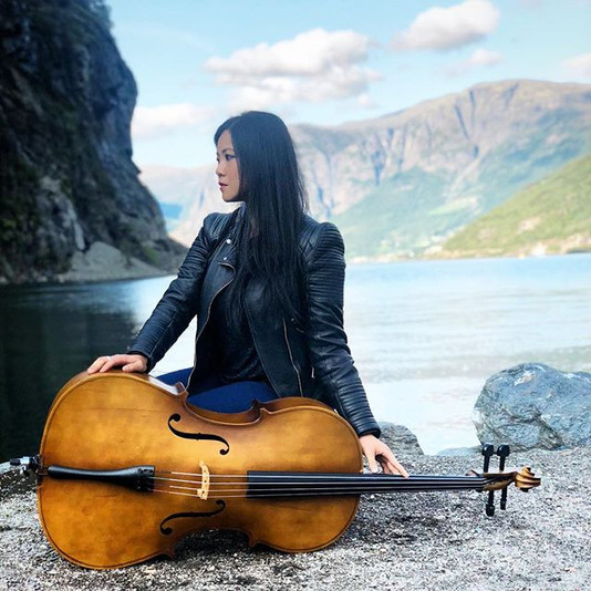 Cello + Fjord = Pure ❤️ ._📸 by _polinas