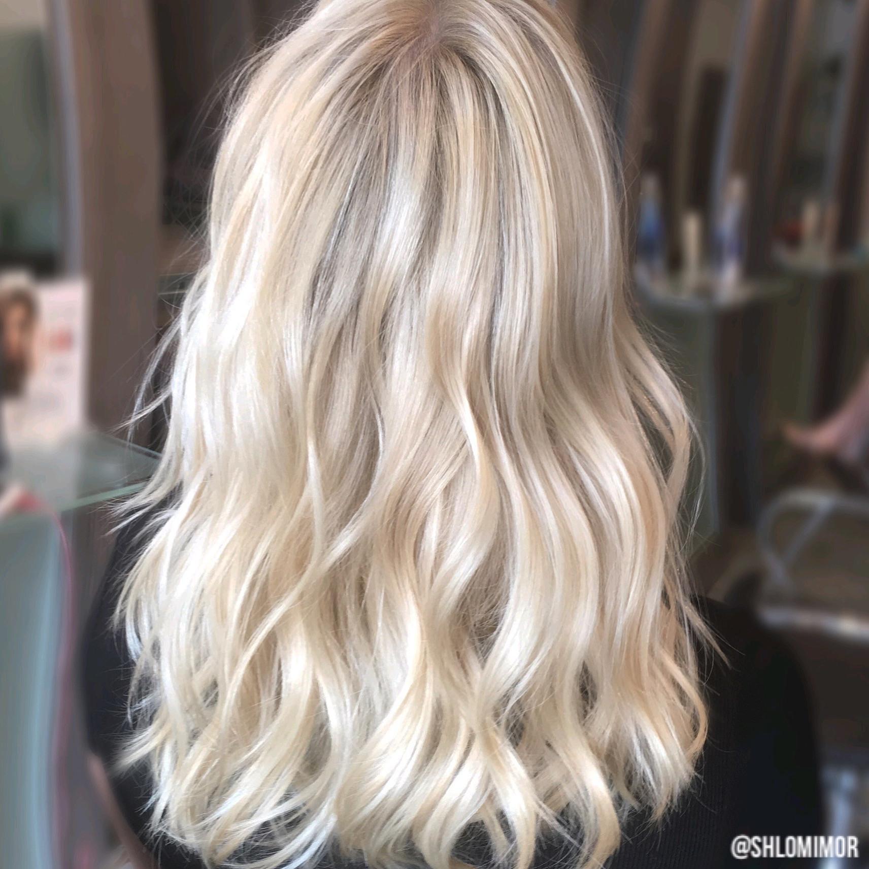 Double Process Blonde