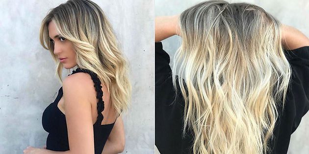 The New Balayage Hair Color Trend That Says Reverse It