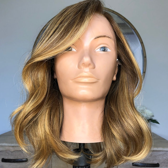 lace front wig made from virgin european russian hair