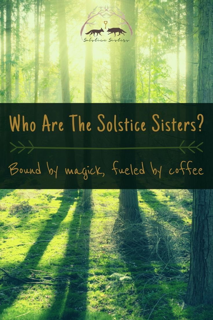 Who are the Solstice Sisters? pin