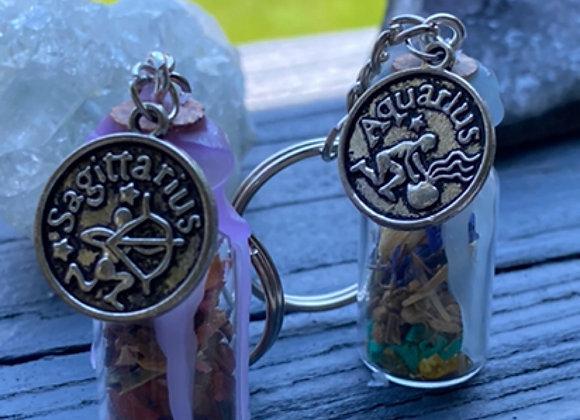 Zodiac Keychains