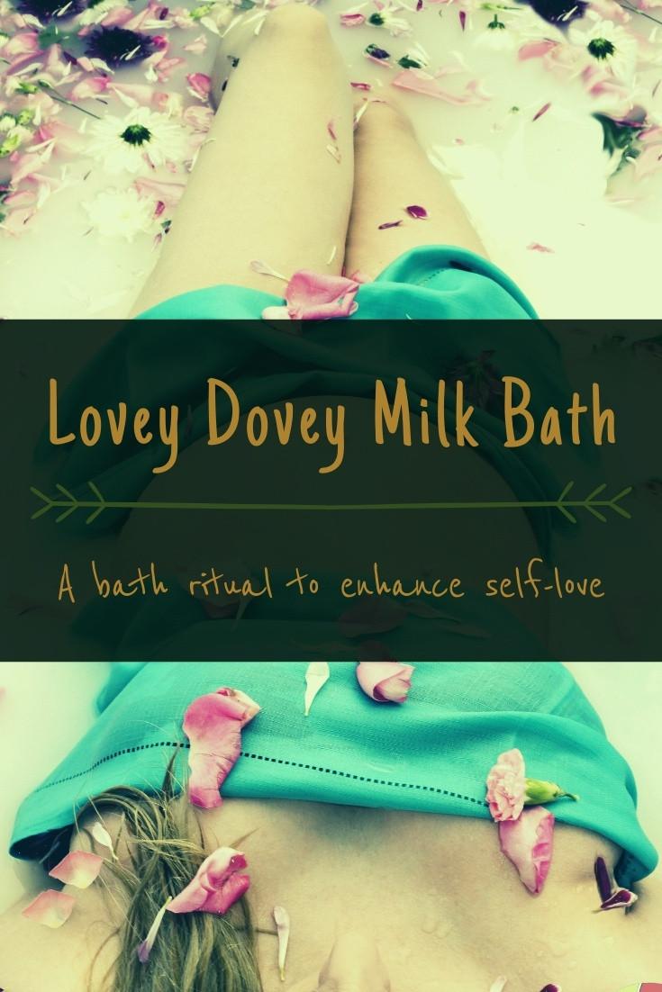 Lovey Dovey Milk Bath Ritual
