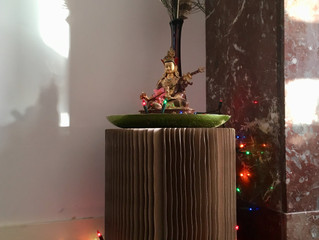 Kerstboom weg, Padmasambhava terug