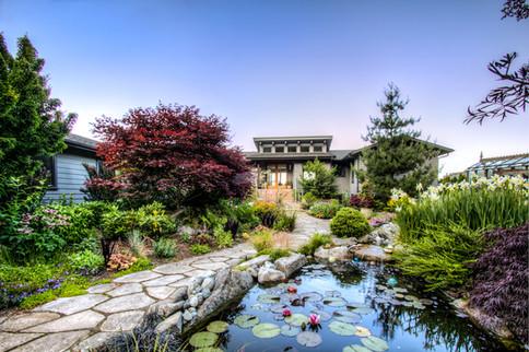 Island Home Garden and Pond