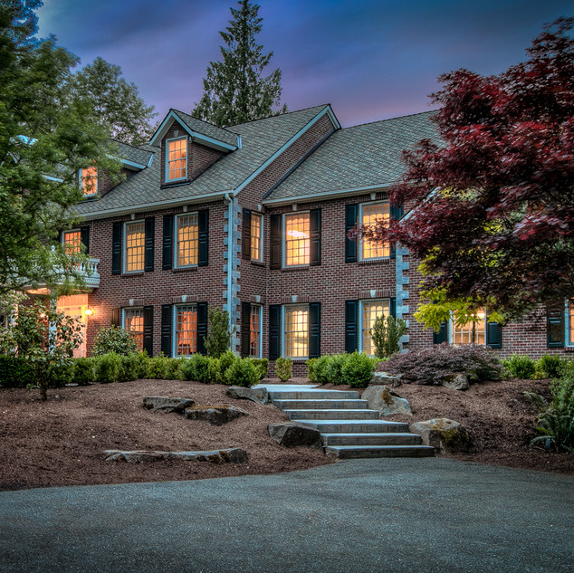 Redmond Mansion Twilight