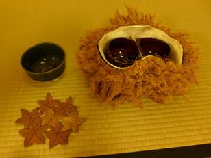 横浜市都筑区の民家園アート茶会