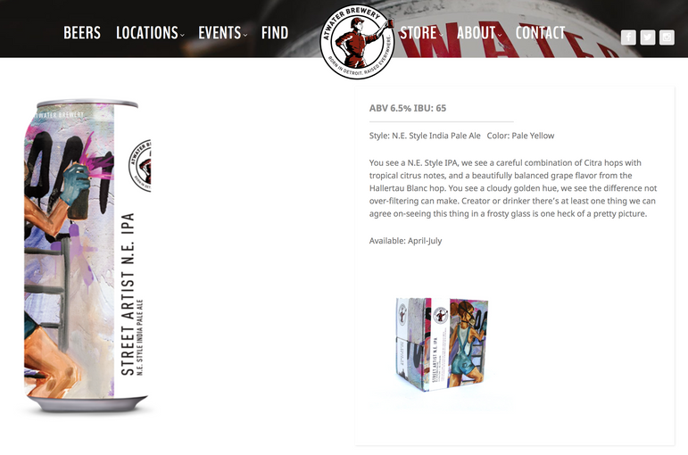 Street Artist IPA FOR ATWATER