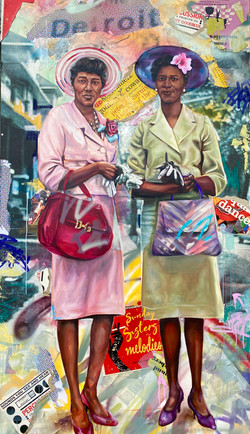 The OG's (Grandma and Great Aunti) 4FT X 8FT