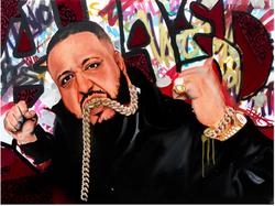 DJ KHALED (3ft x 4ft)