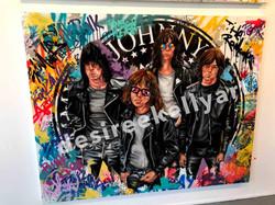 The Ramones 4ft x 5ft
