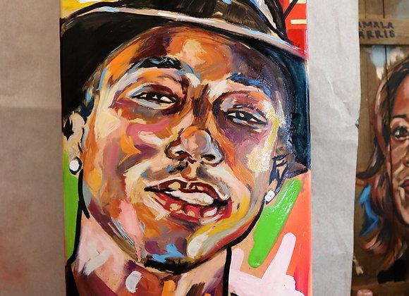 Pharrell (on deck)