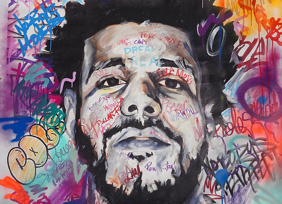 Cole - Hand Embellished reproduction