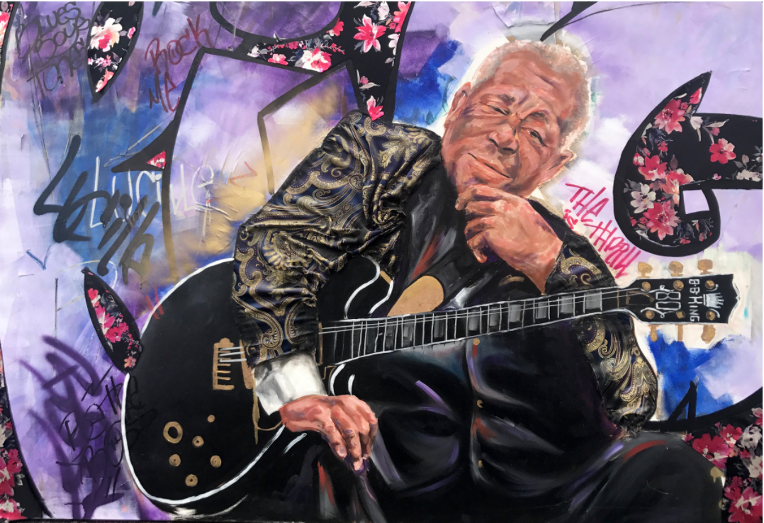 BB KING (4ft x 6ft)
