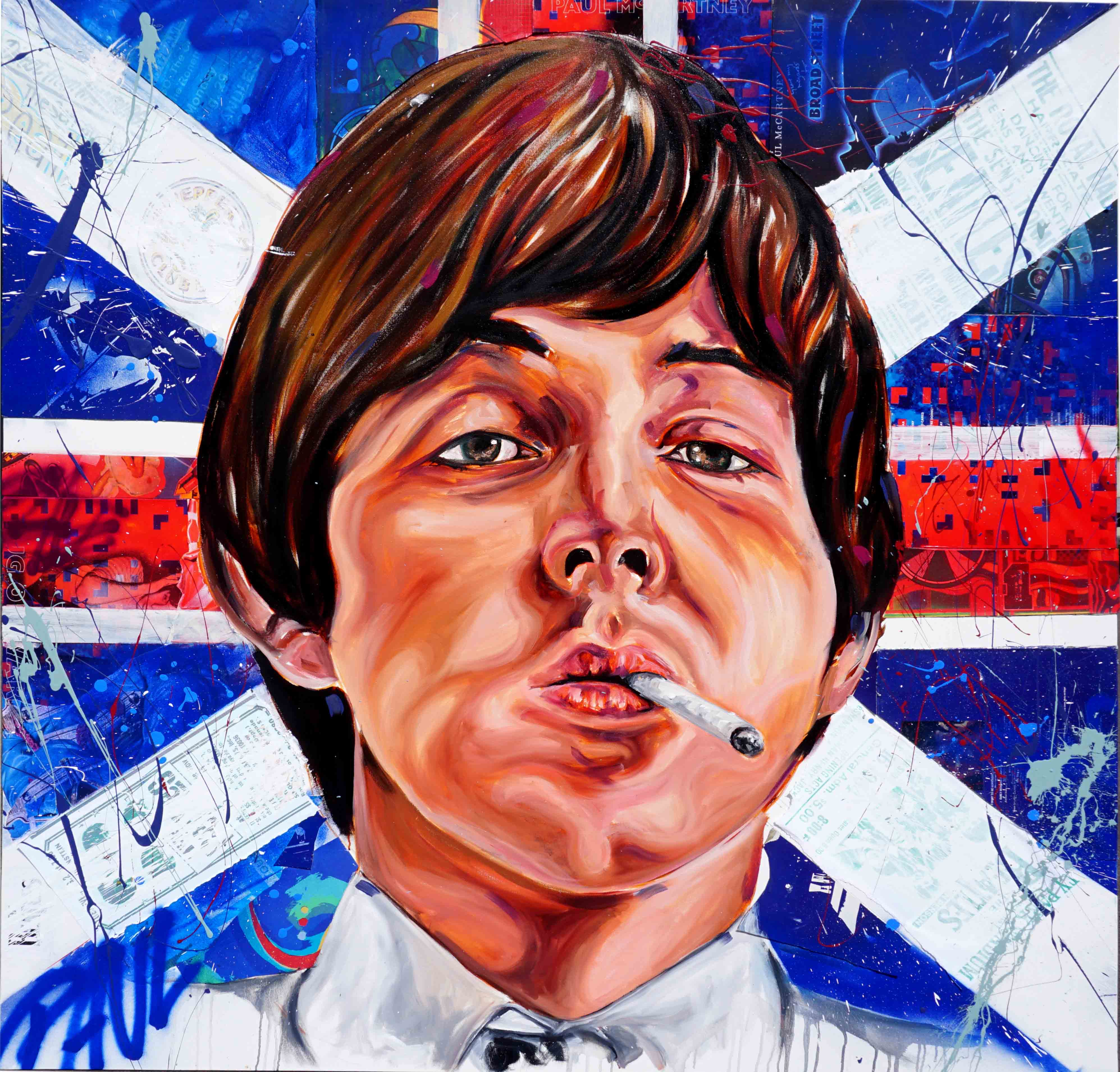Paul McCartney 5ft x5ft