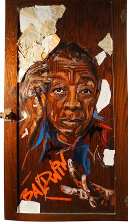 Baldwin (on door)