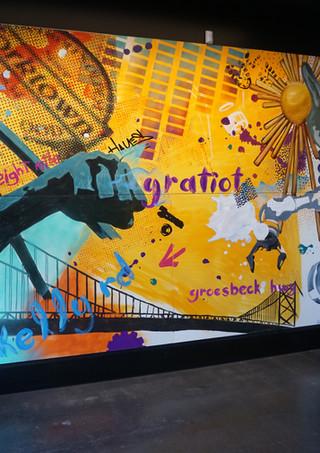 fpptlocker interior wall mural