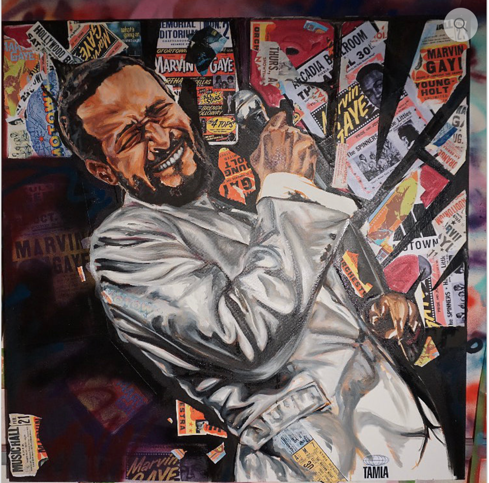 MARVIN GAYE 4FT X4FT