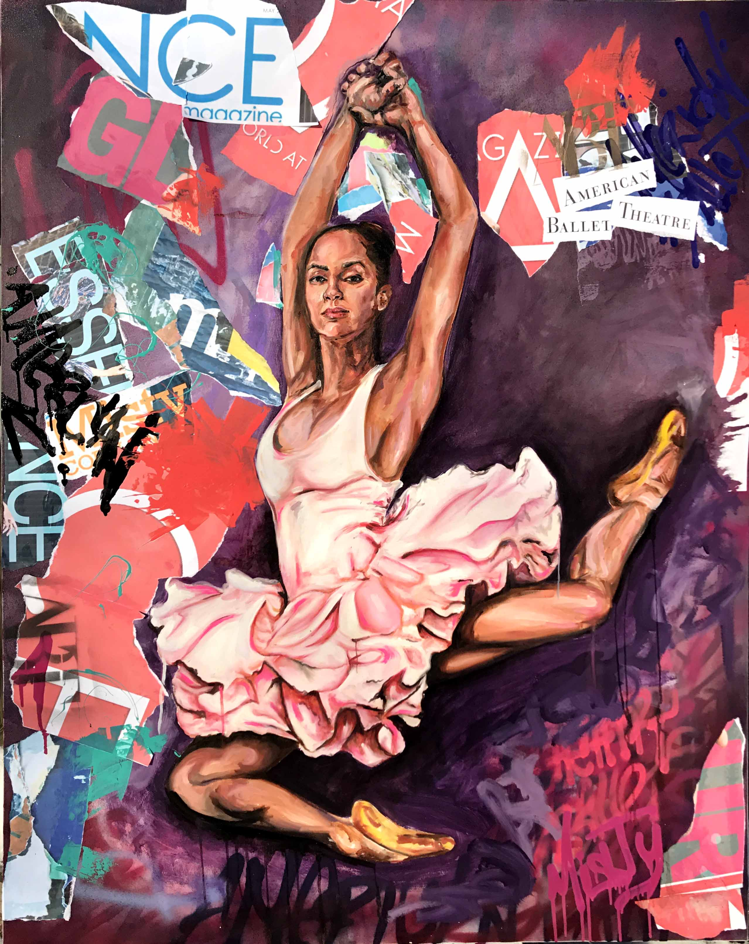 Misty Copeland 4ft x5ft