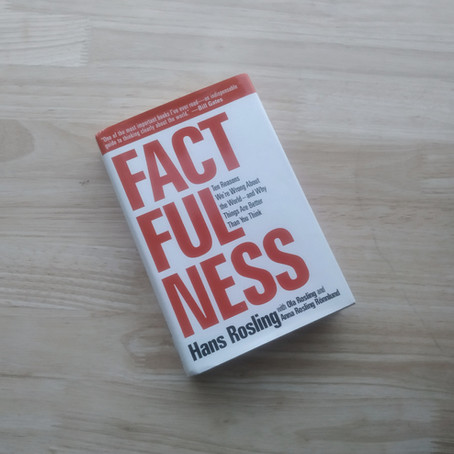 """Footnote to #13:  The Errors of Thinking identified in """"Factfulness"""""""