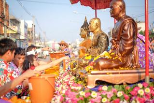 태국의 쏭크란 축제