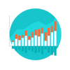 Besöksstatistik i graf