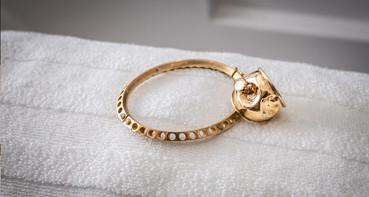 Elliptic Bracelet, Apple ring