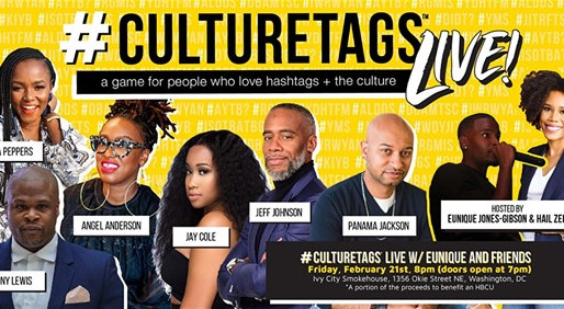 #CultureTags Live! Welcome to the Cookout - YSHBH