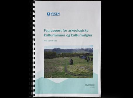 Fagrapport for arkeologiske kulturminnerog kulturmiljøe, Hol kommune