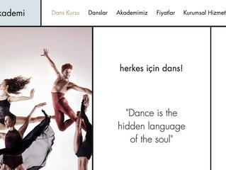 estaDANS Akademi Web Sitesi Yayında