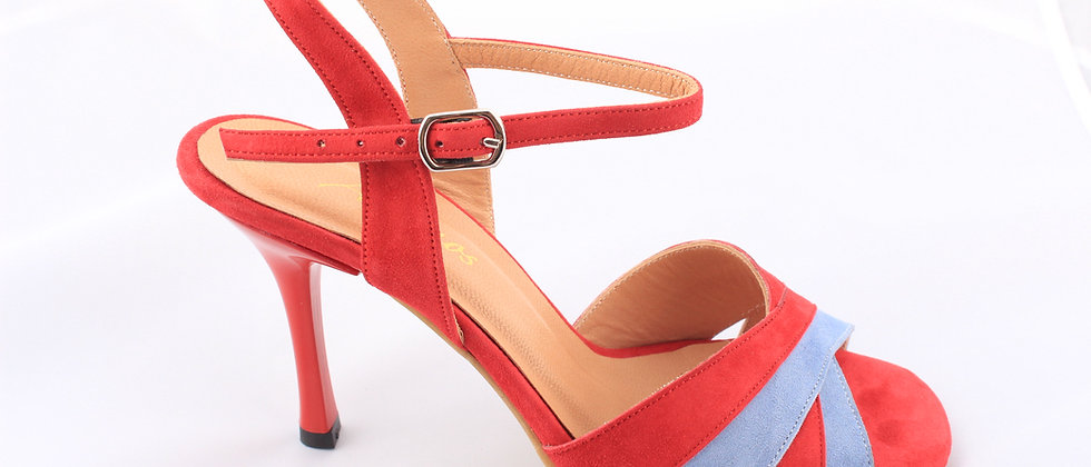 Red & Blue Suede, X Band