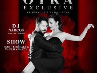 otra'da bu Cuma (8 Şubat) Eşref & Vanessa Show